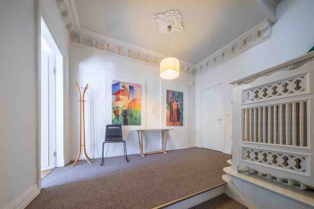 Paartherapie Hamburg Eingangsbereich