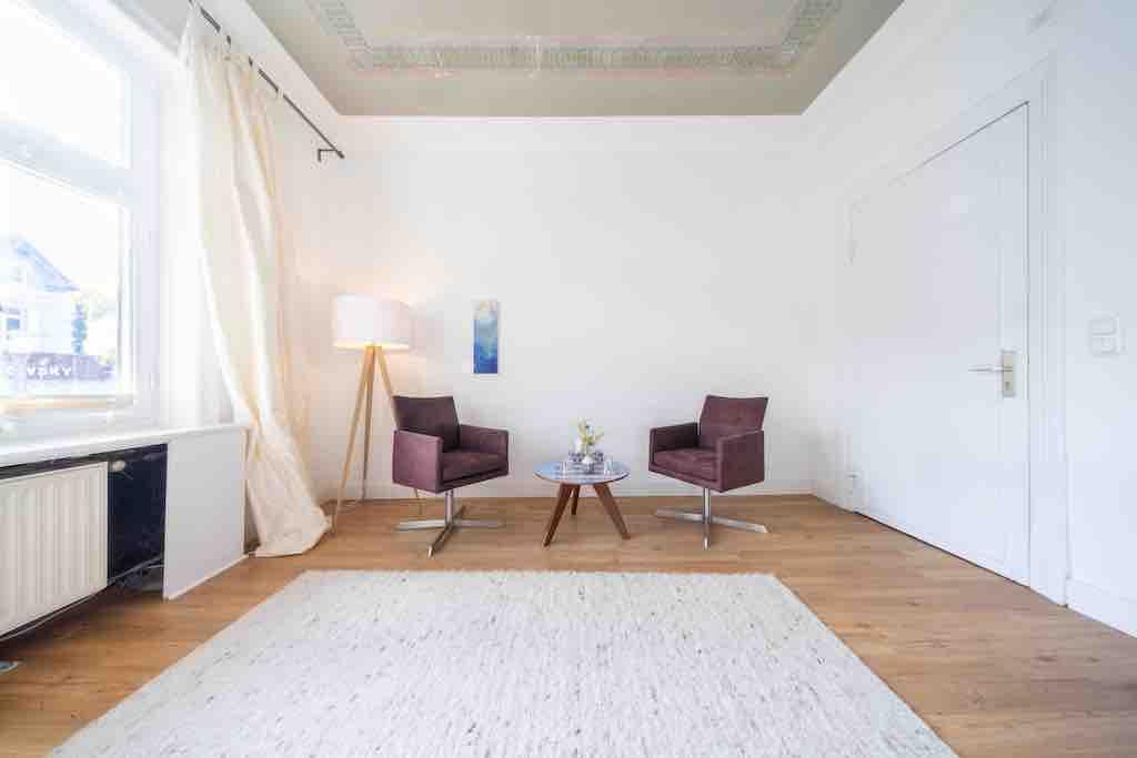 Paartherapie Hamburg Praxisraum